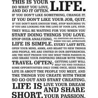 Typografia LIFE