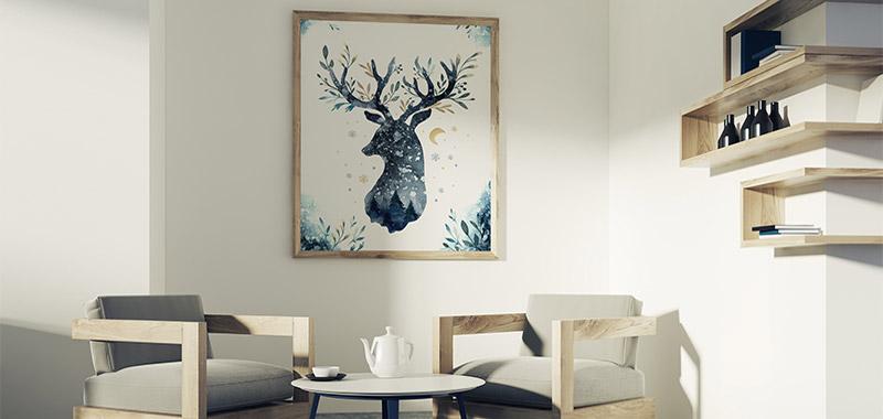 Plakaty Na ścianę Do Salonu Ecowall24pl