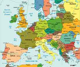 Fototapety Na Sciane Mapa Europy Swiata Strona 2 Ecowall24 Pl
