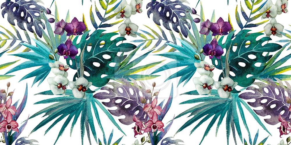 Orchidea i hibiskus