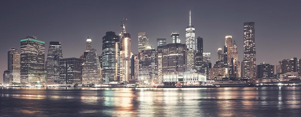 Panorama miasta Manhattan