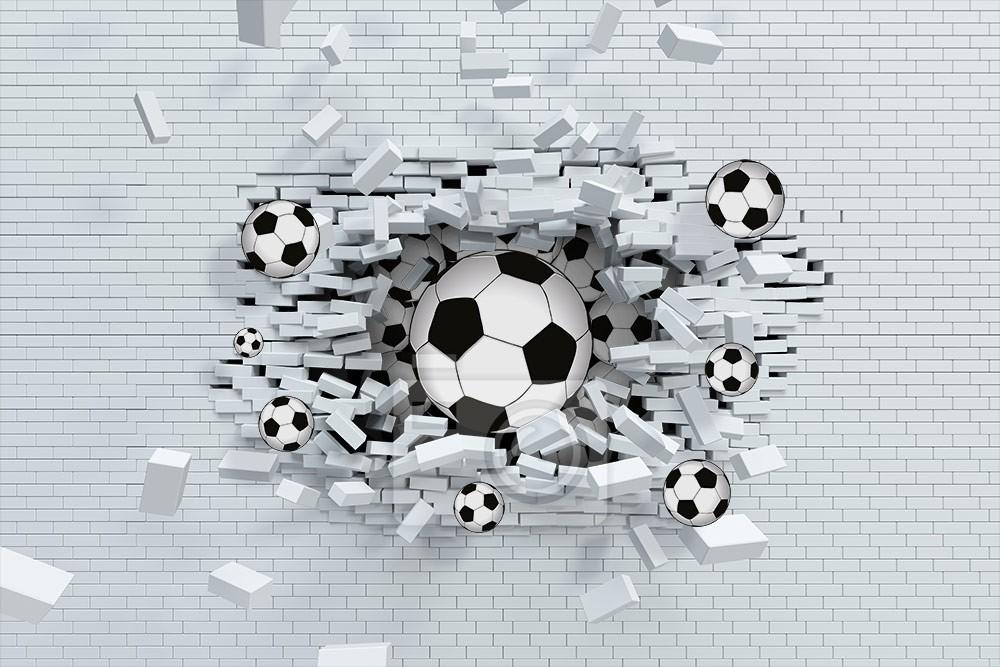 Piłka w cegłach