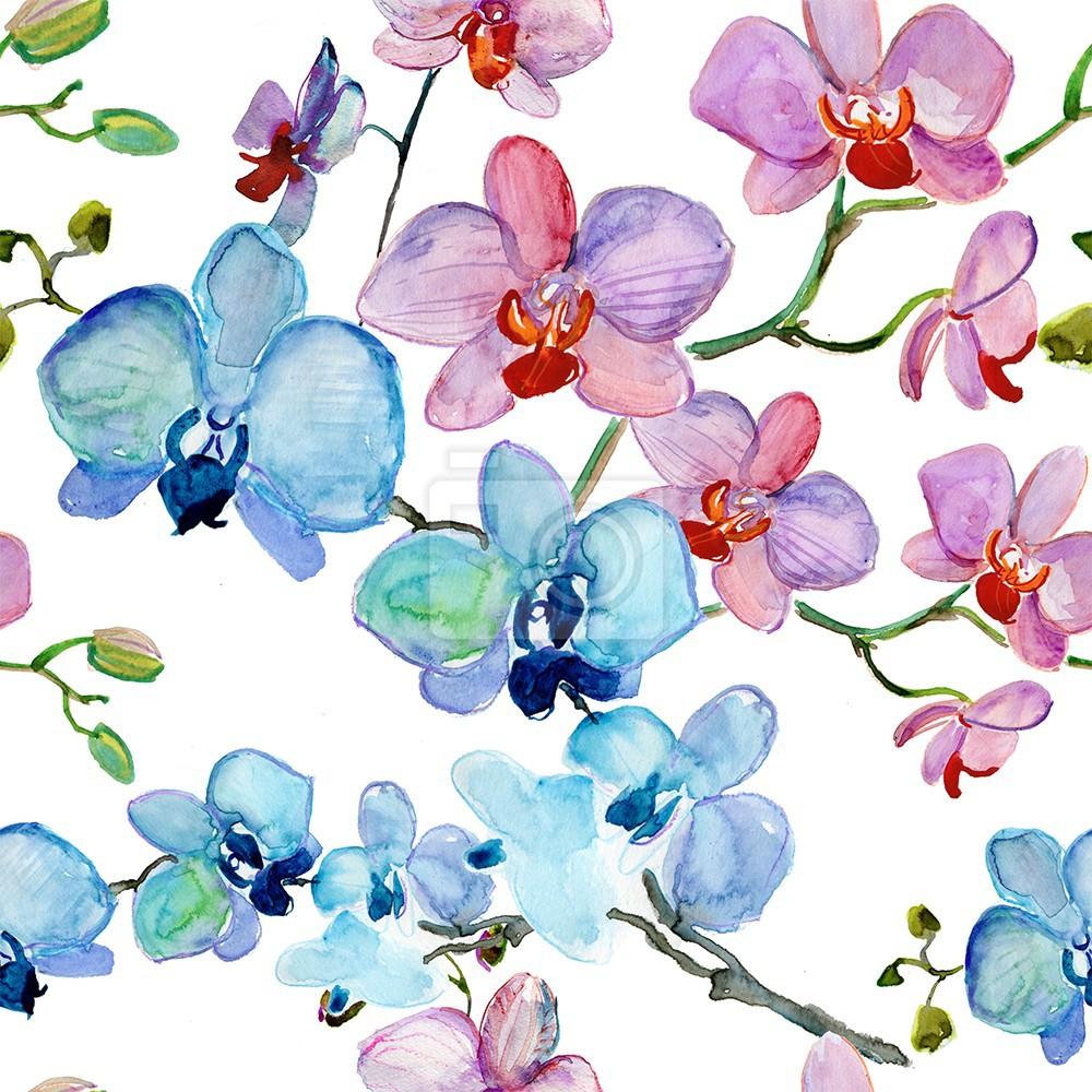 Piękne Kwiaty ręcznie malowane